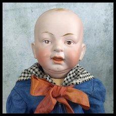 Hertel Schwab bisque character baby