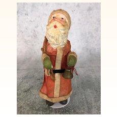 Antique papier mache Santa doll