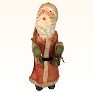 Antique papier mache Santa doll