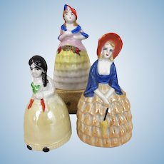 Collection of Vintage porcelain bell dolls