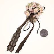 Vintage floral nosegay for Doll