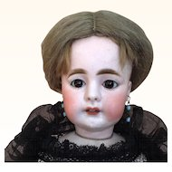 German bisque mysterious and beautiful fashion doll