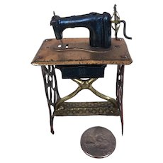 Old Penny toy miniature sewing machine