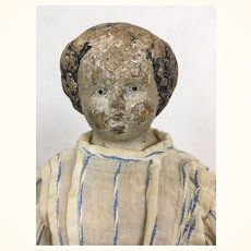 Antique and much loved papier mache survivor seeks loving home