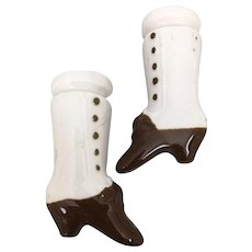 Hertwig china doll short chunky boots
