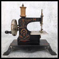 Antique German Casige Toy Sewing Machine