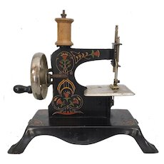 Antique German Casige Toy Sewing Machine