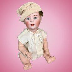Antique Jutta baby boy doll