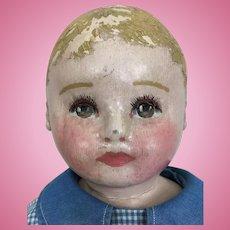 Adorable Martha Chase boy doll