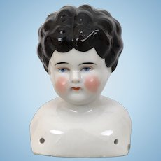 Antique Lowbrow china doll head