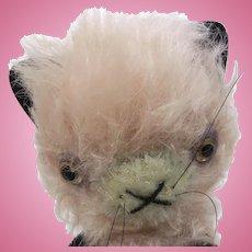 Mohair artist cat by Pam Overmeier