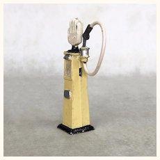 Vintage miniature toy gas pump