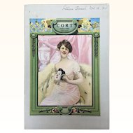 Cort Theatre Program Chicago 1924