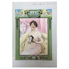 Cort Theatre Program Chicago 1924