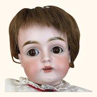German bisque head child doll, Kestner, Model 129