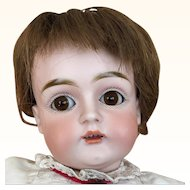 German bisque head child doll, Kestner, Model 129