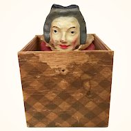 Antique Jack in the box Lady