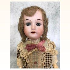 Antique Recknagel cabinet sized doll