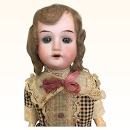 Antique Recknagel cabinet sized doll