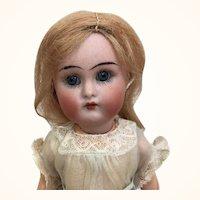 Miniature bisque flapper girl, Kammer and Reinhardt, mint condition, original clothing