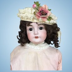 Beautiful 24 inch German bisque girl Kestner model 164
