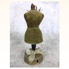 Antique miniature dollhouse dressmaker's form