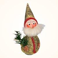 Vintage German Santa Nodder