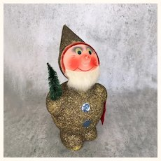 Vintage Santa Candy or elf candy container