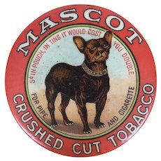 Mascot Tobacco mirror in excellent condition