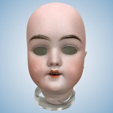 Antique Handwerck German bisque doll head, model 119