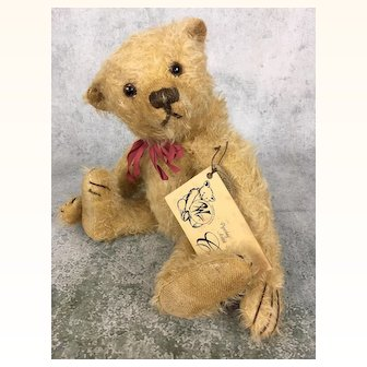Vintage artist bear, limited edition Psychny bear from Germany