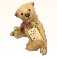 Vintage artist bear, limited edition Psychny bear from Germany