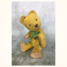 Vintage well-loved Gokra teddy bear