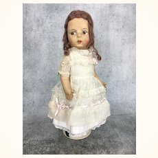Vintage cloth doll by Eugénie Poir