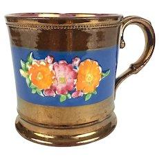 Antique Copper Luster mug