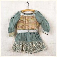 Beautiful handmade silk dress