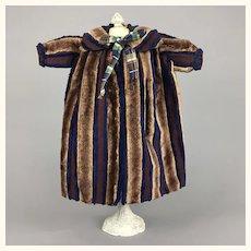 Vintage unusual and wonderful doll's coat