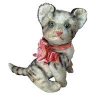 "Vintage Steiff ""Kitty"" mohair cat"
