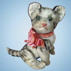 "Vintage Steiff ""Kitty"" mohair cat"