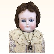 Antique Alt Beck & Gottschalk turned head doll
