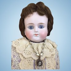 Antique Alt Beck & Gottschalk turned head doll