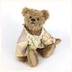 Vintage artist teddy bear by Sue Foskey,