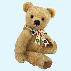 Vintage English Merrythought mohair teddy bear