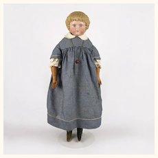 Antique Alt Beck Gottschalk painted eye bisque head doll