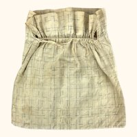 Antique cotton ditty bag