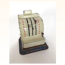 Vintage miniature cash register