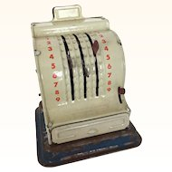 Vintage miniature cash register