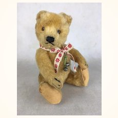 Vintage Mohair Teddy Bear, perfect doll companion
