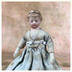 China head dollhouse doll on original body
