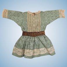 Vintage handmade dress for doll